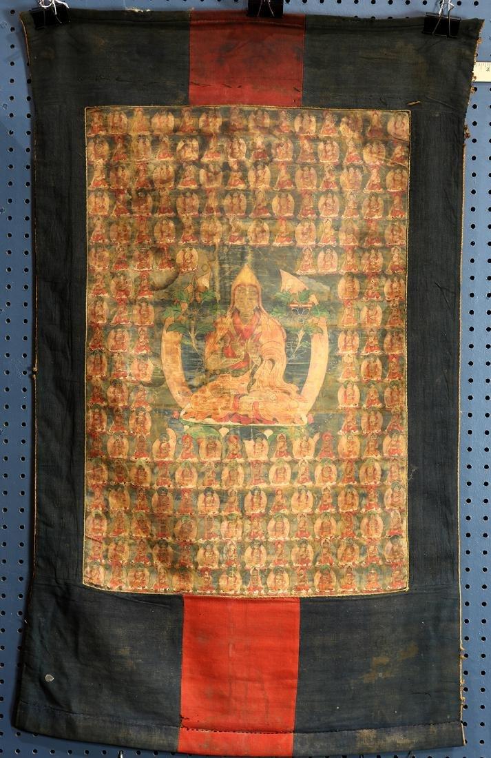 Himalayan Thangka, Lama