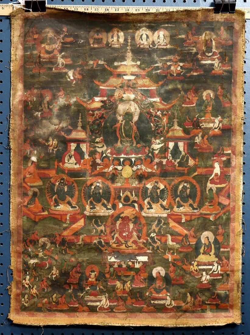 Himalayan Thangka, Green Tara
