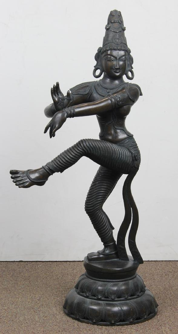 Indian Bronze Dancing Figure