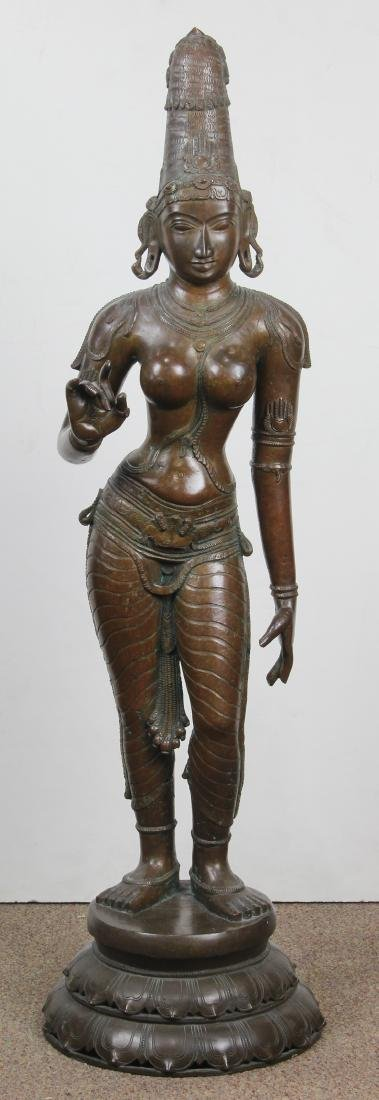 Indian Bronze Female Diety