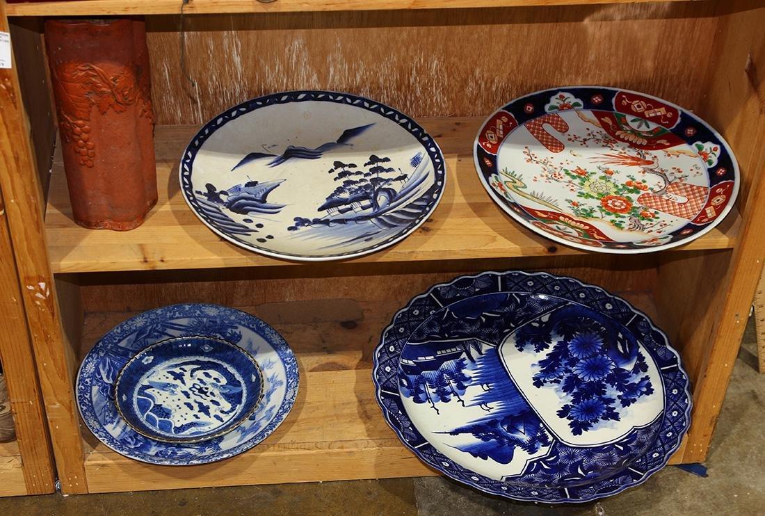 Shelf of Japanese Ceramics