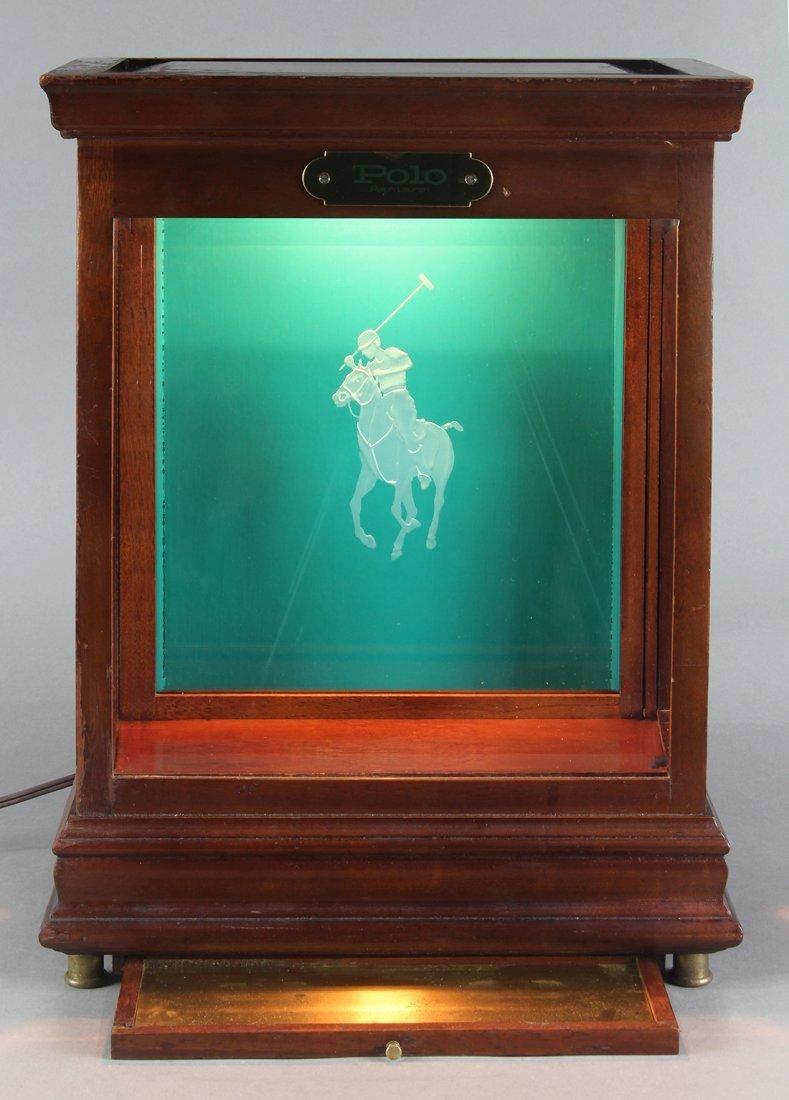 Ralph Lauren Polo display case