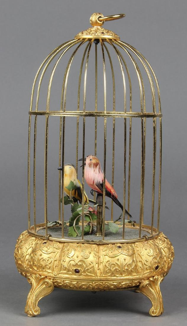 German singing bird automaton, early 20th Century, the