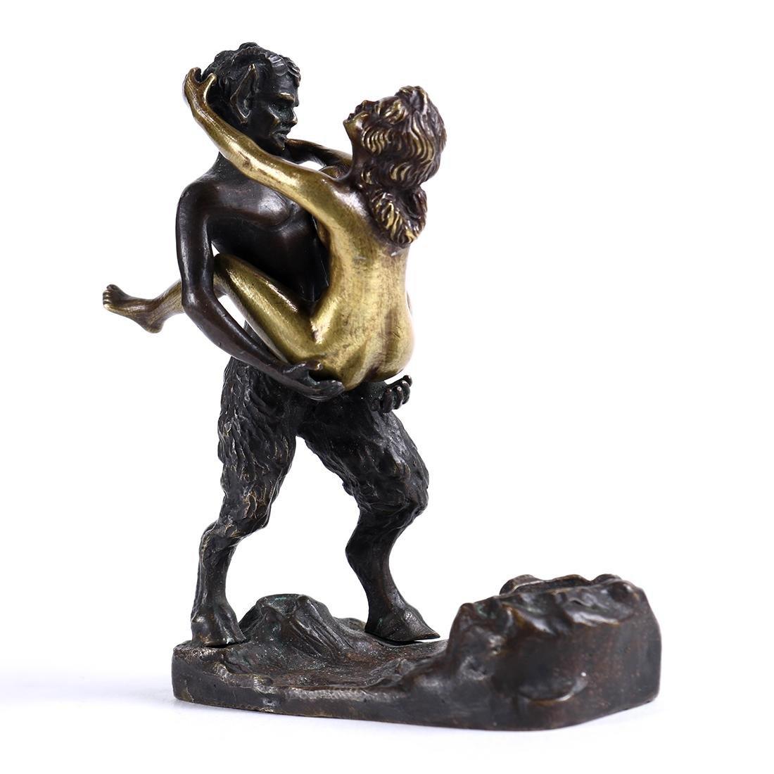 Austrian Franz Bergmann erotic bronze sculpture