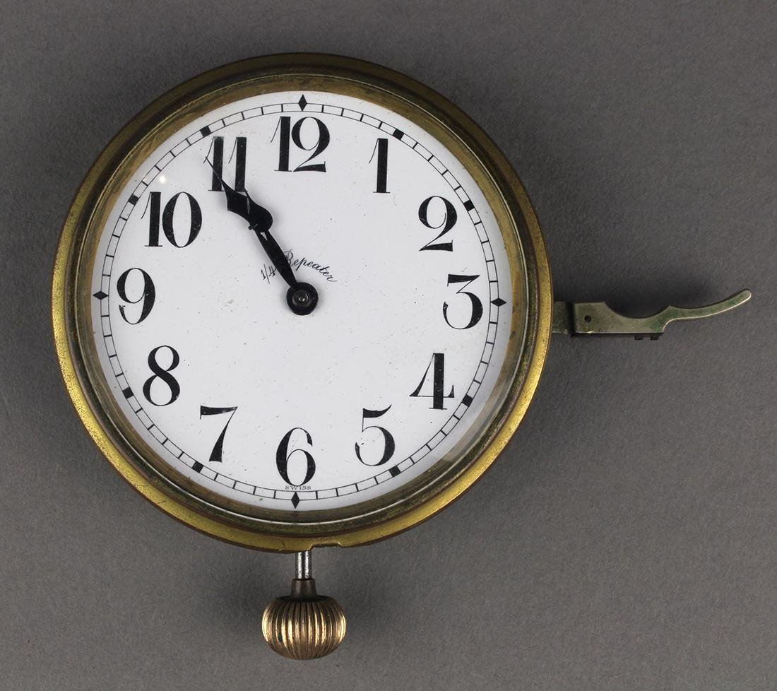 Swiss Repeater clock, early 20th Century possibly from
