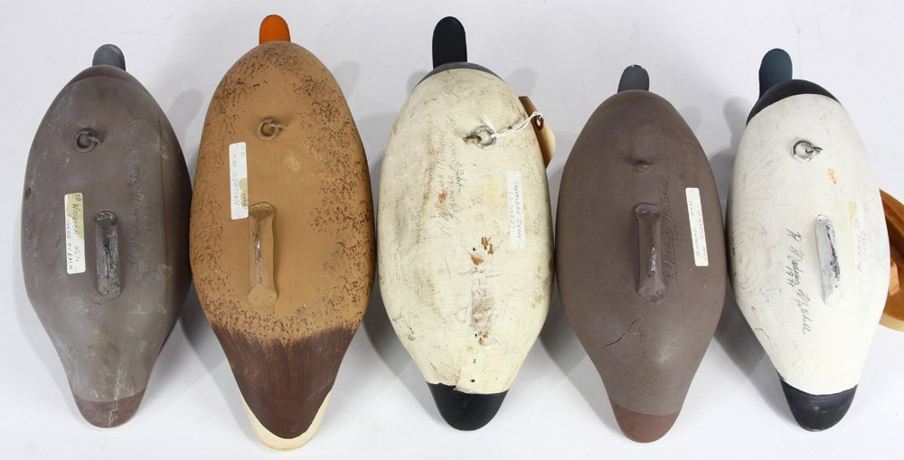 (lot of 5) Duck decoy group - 4