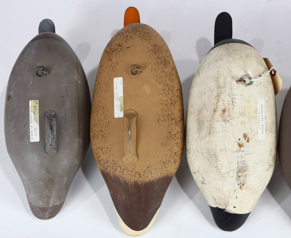 (lot of 5) Duck decoy group - 5