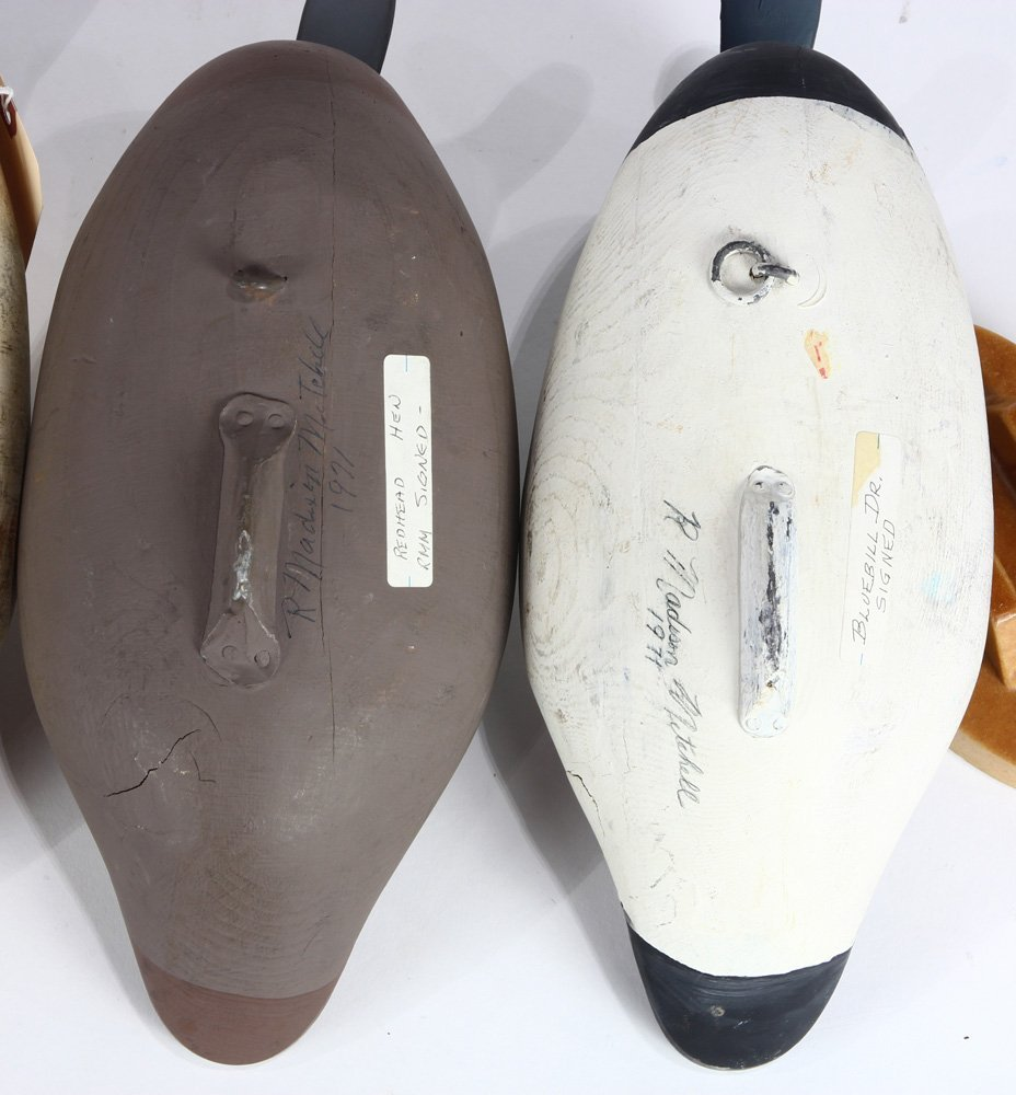 (lot of 5) Duck decoy group - 6