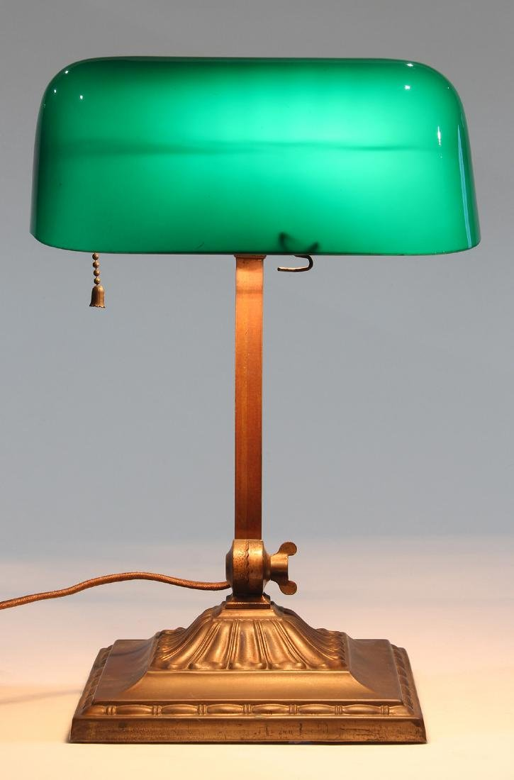 Emeralite desk lamp