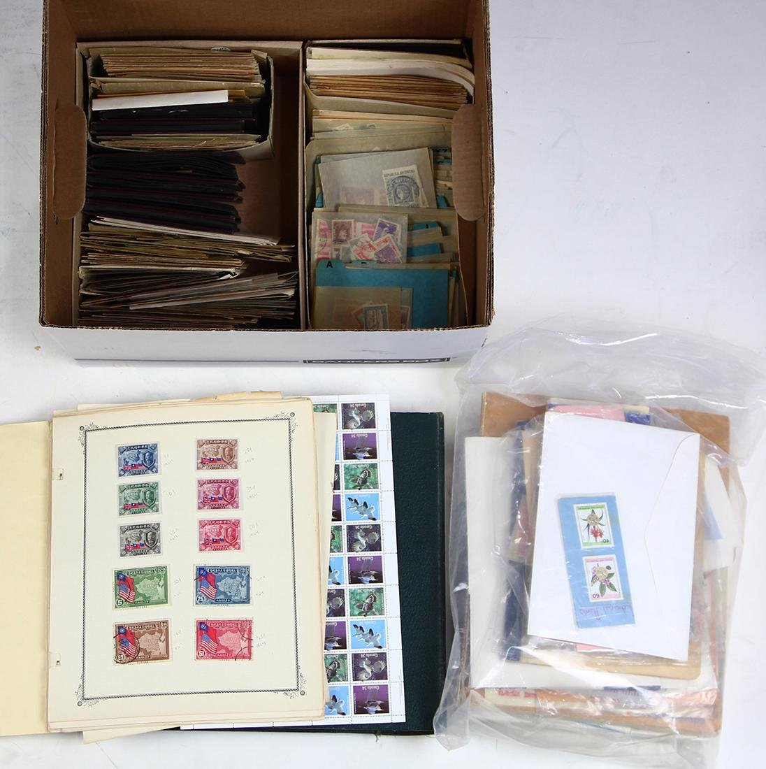 (lot of 100+) Worldwide stamp collection, 19th and 20th