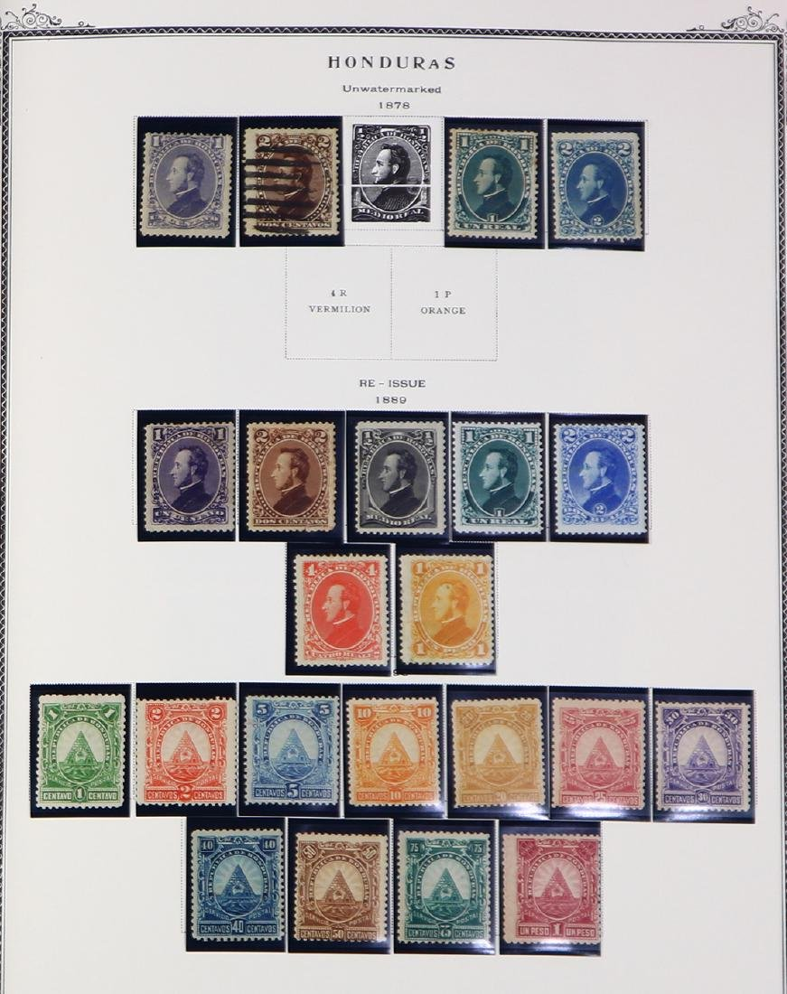 (lot of 100+) Latin America stamp collection, 19th and