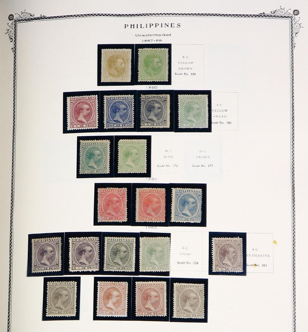 (lot of 125+) Philippines stamp collection, 1859-1980,