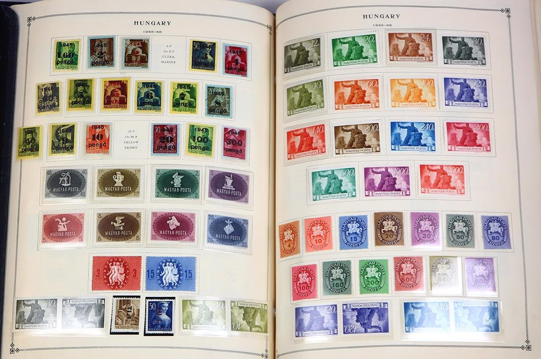 (lot of 100+) Eastern Europe stamp collection