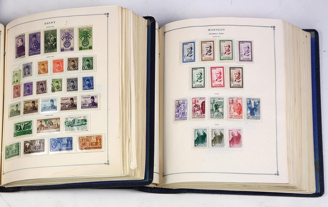 (lot of 100+) International stamp collection,