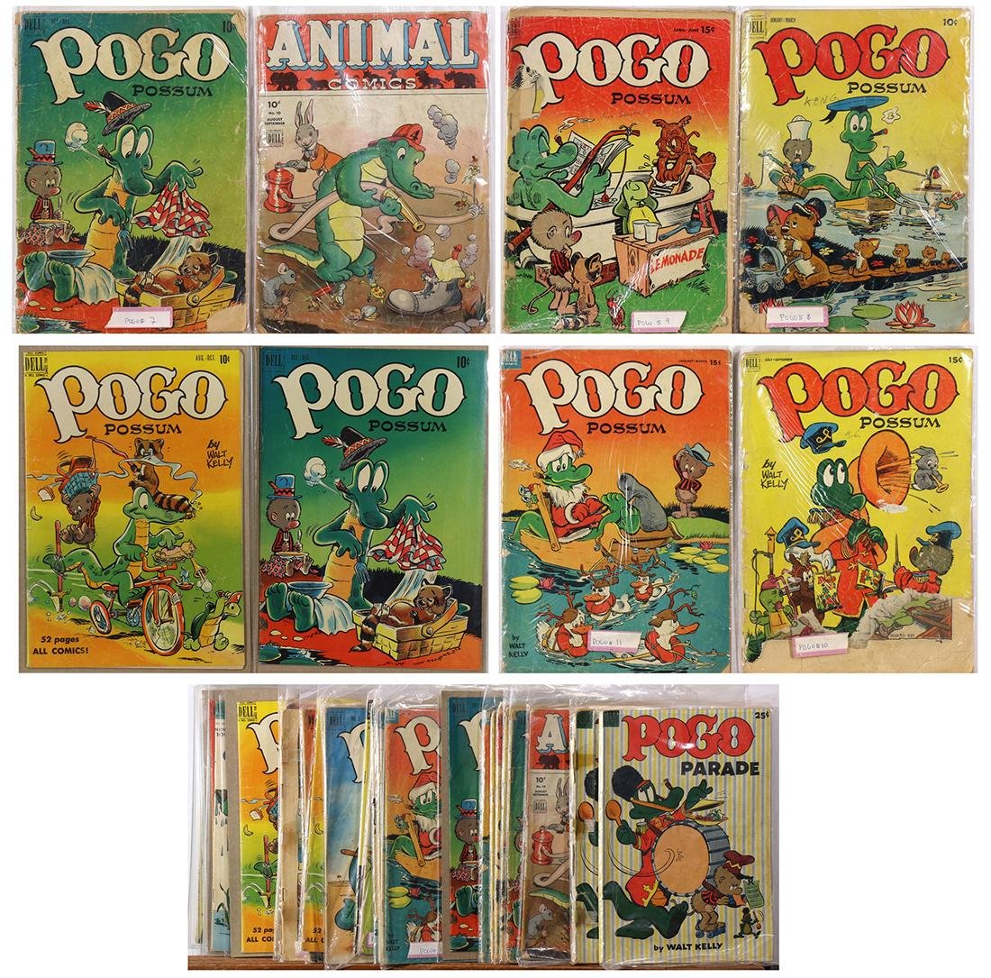 (lot of approx. 30) Walt Kelly comic books