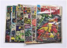 lot of 7 Marvel comic books silver age comics
