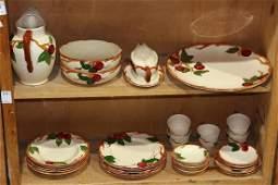 lot of 30 Franciscan tableware set