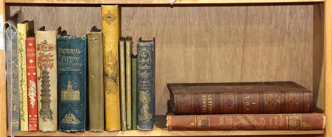 (lot of 13) Vintage U.S. book group