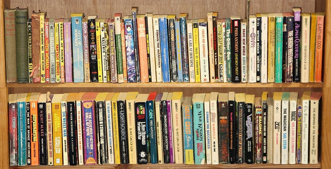 (lot of 160) Science fiction and fantasy paperback