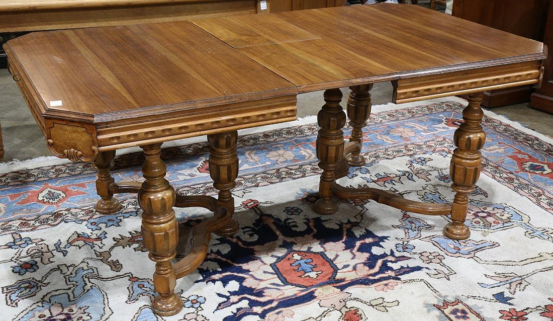 English Renaissance style dining table