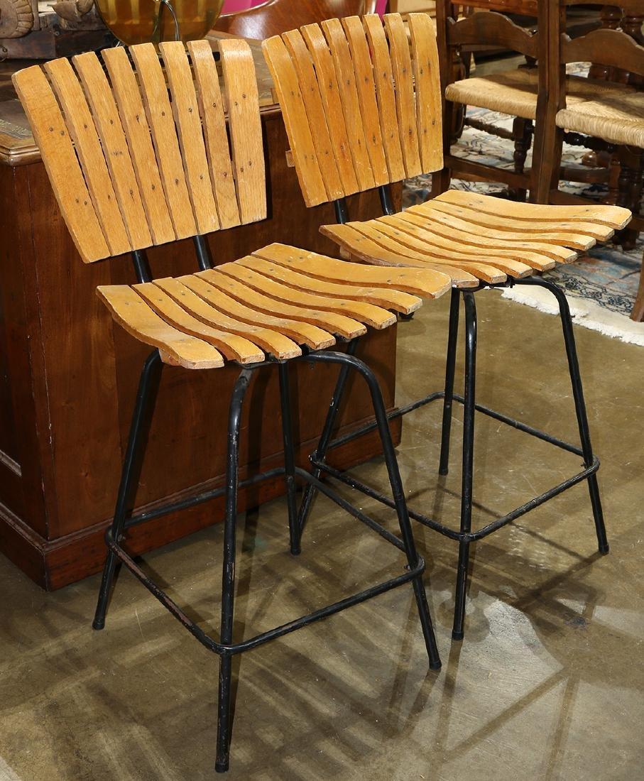 Pair of Modern Umanoff bentwood bar stools