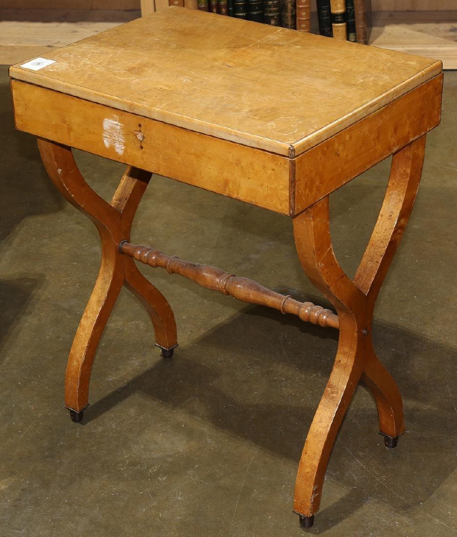 Biedermeier style work table