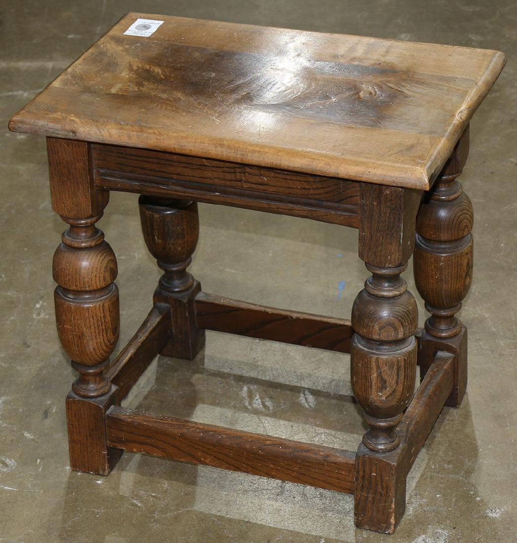 William and Mary style stool