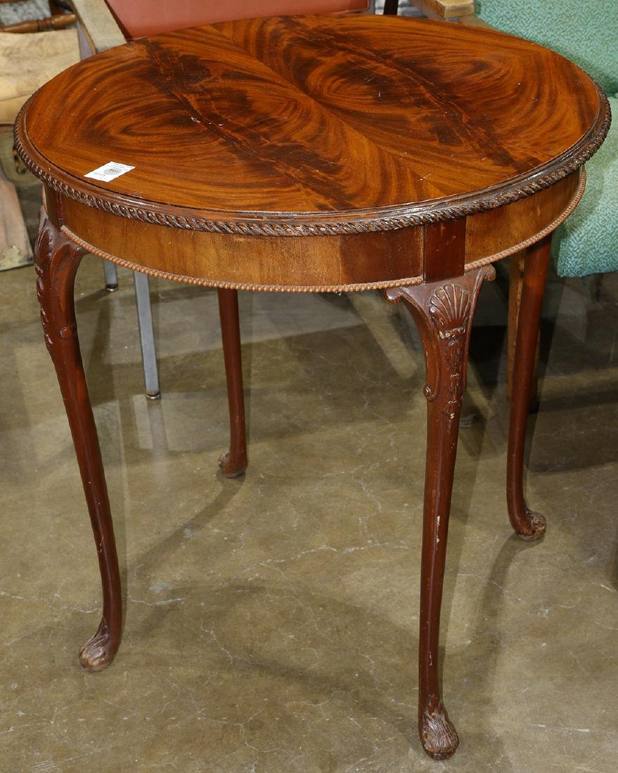 Queen Anne style occasional table