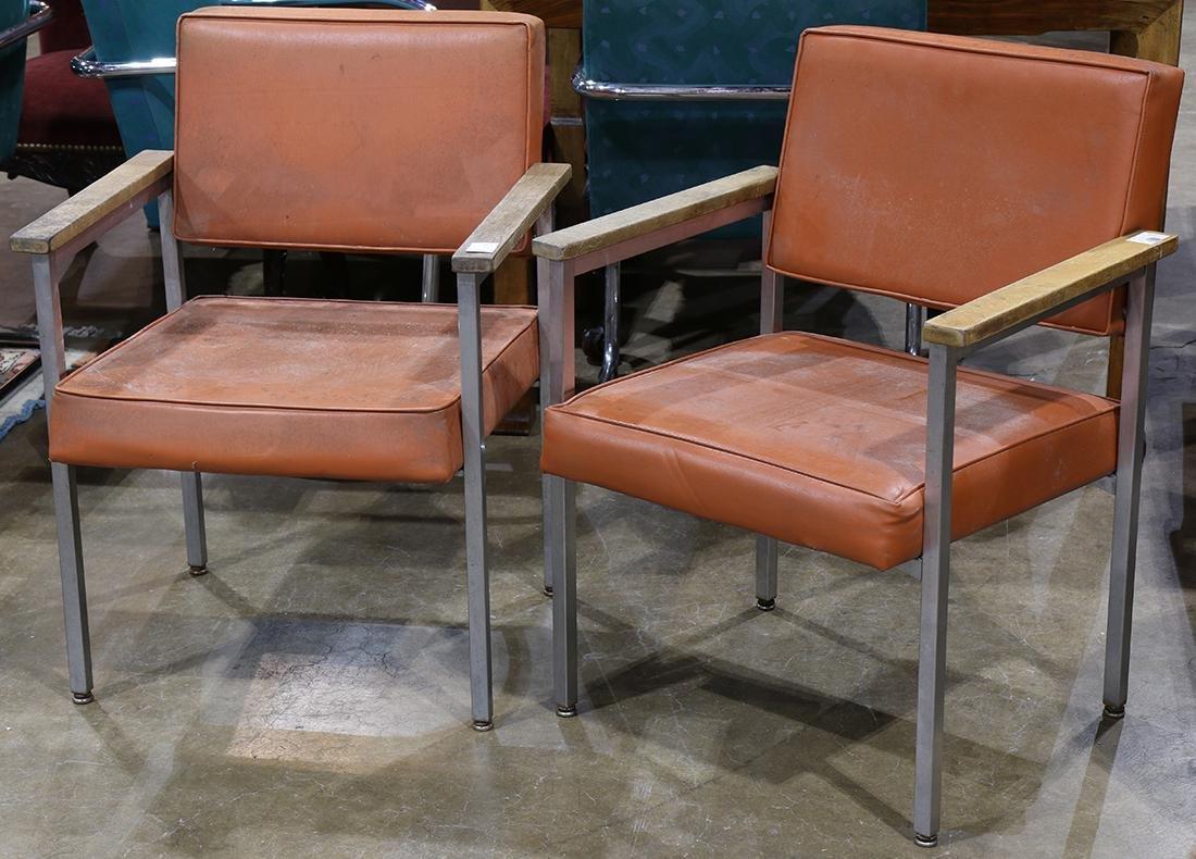 Pair of Harter Corp. Mid Century armchairs