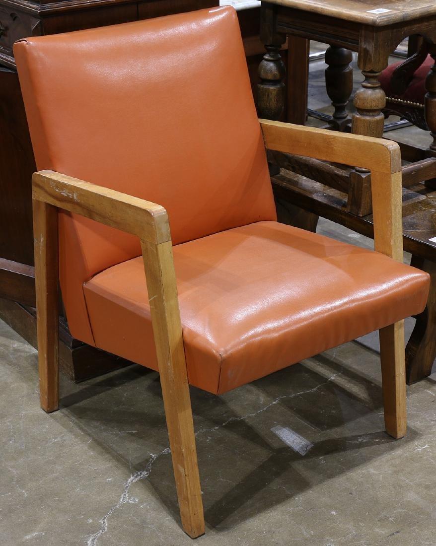 Midcentury modern style armchair