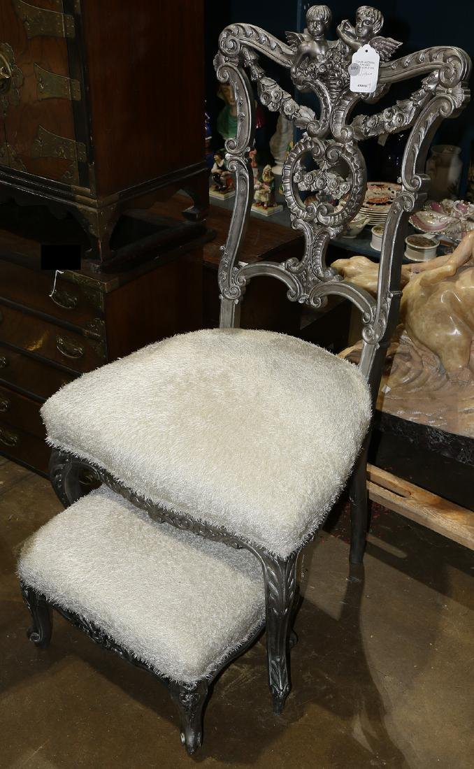 Hollywood Regency style chair
