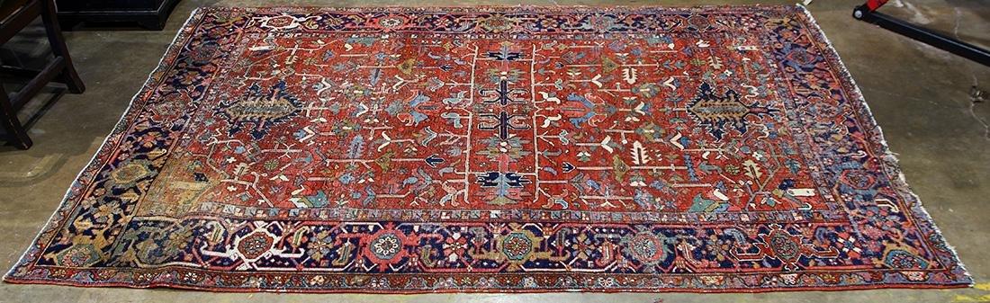 Persian Heriz carpet, 10' x 6'6'