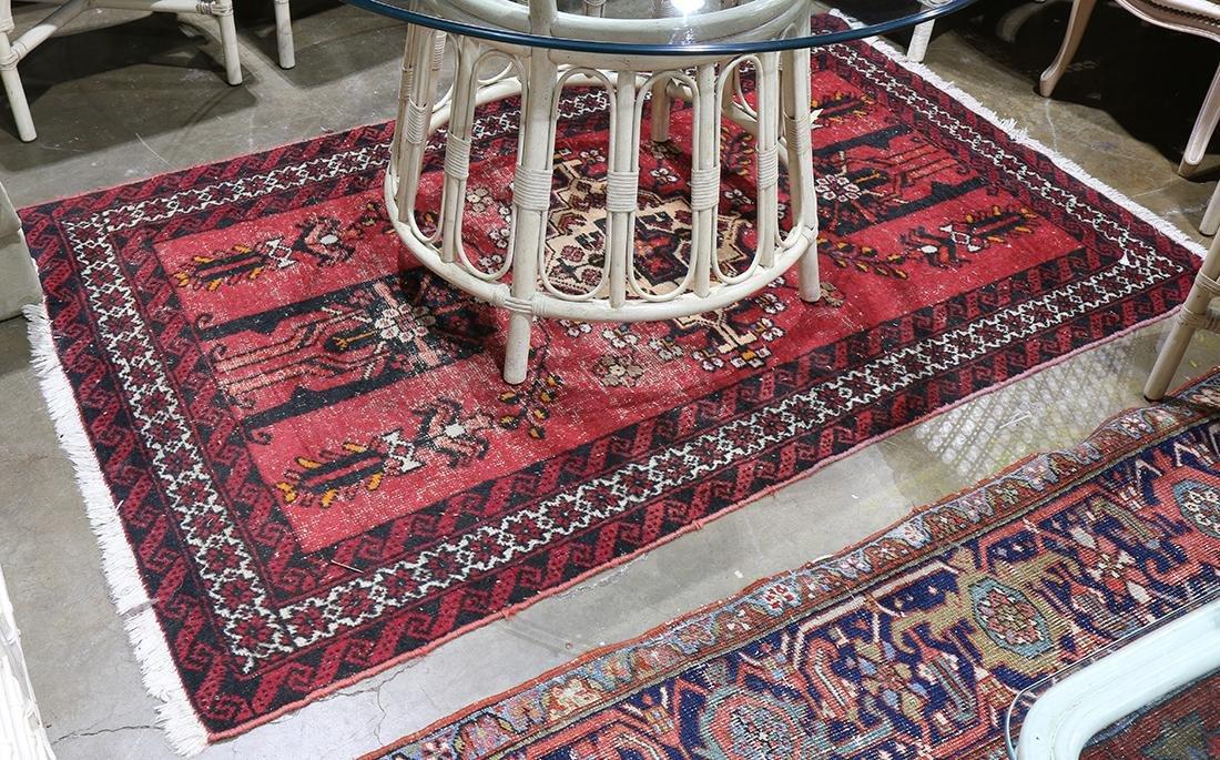 "Persian Hamadan rug, 6'7"" x 4'1"""