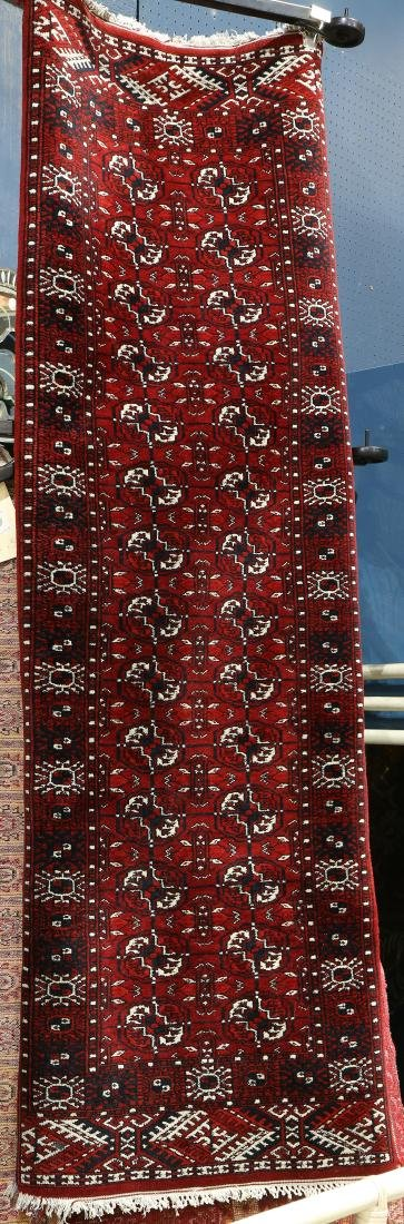 "Pakistani Bokhara carpet, 6'6"" x 2'1"""