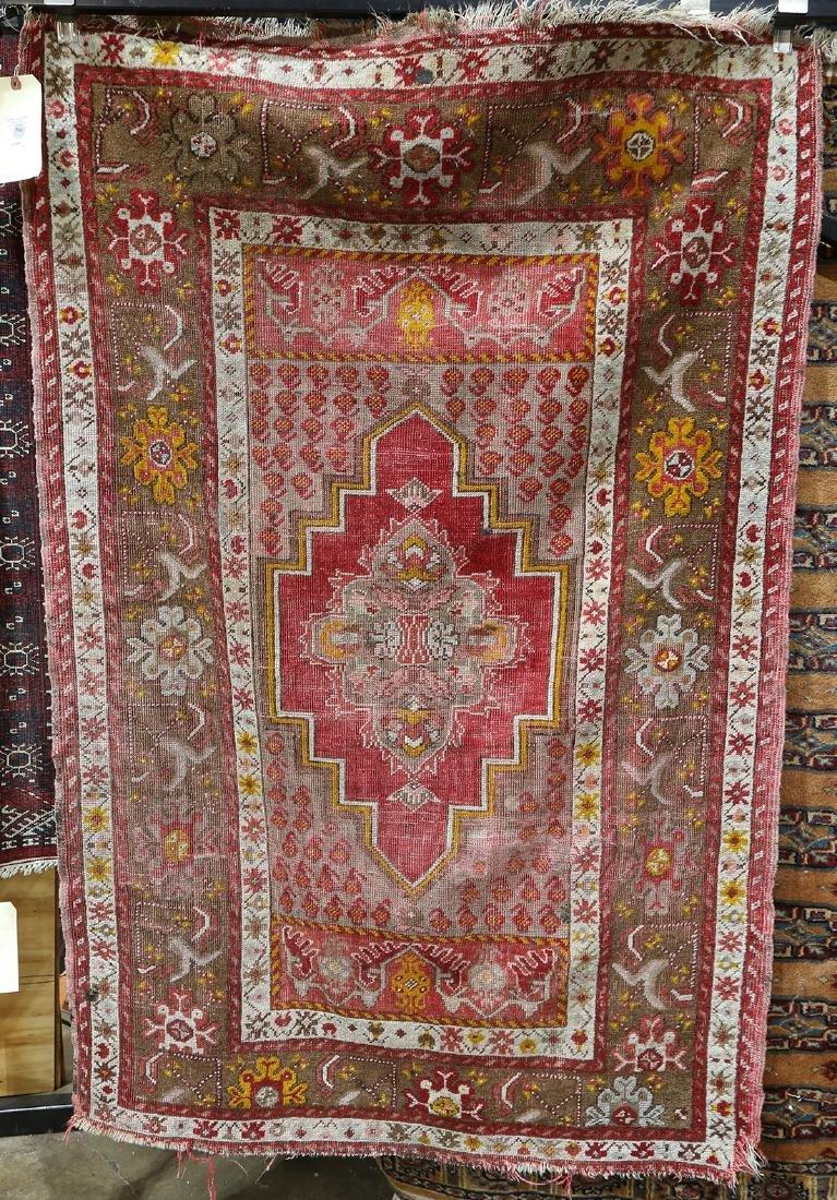 """Turkish carpet, 3'4"""" x 5'3"""""""