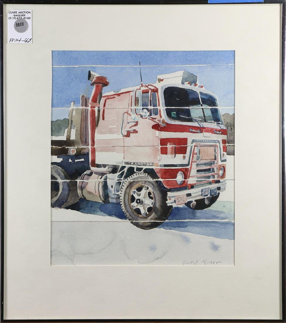 Watercolor, Gustaf Miller