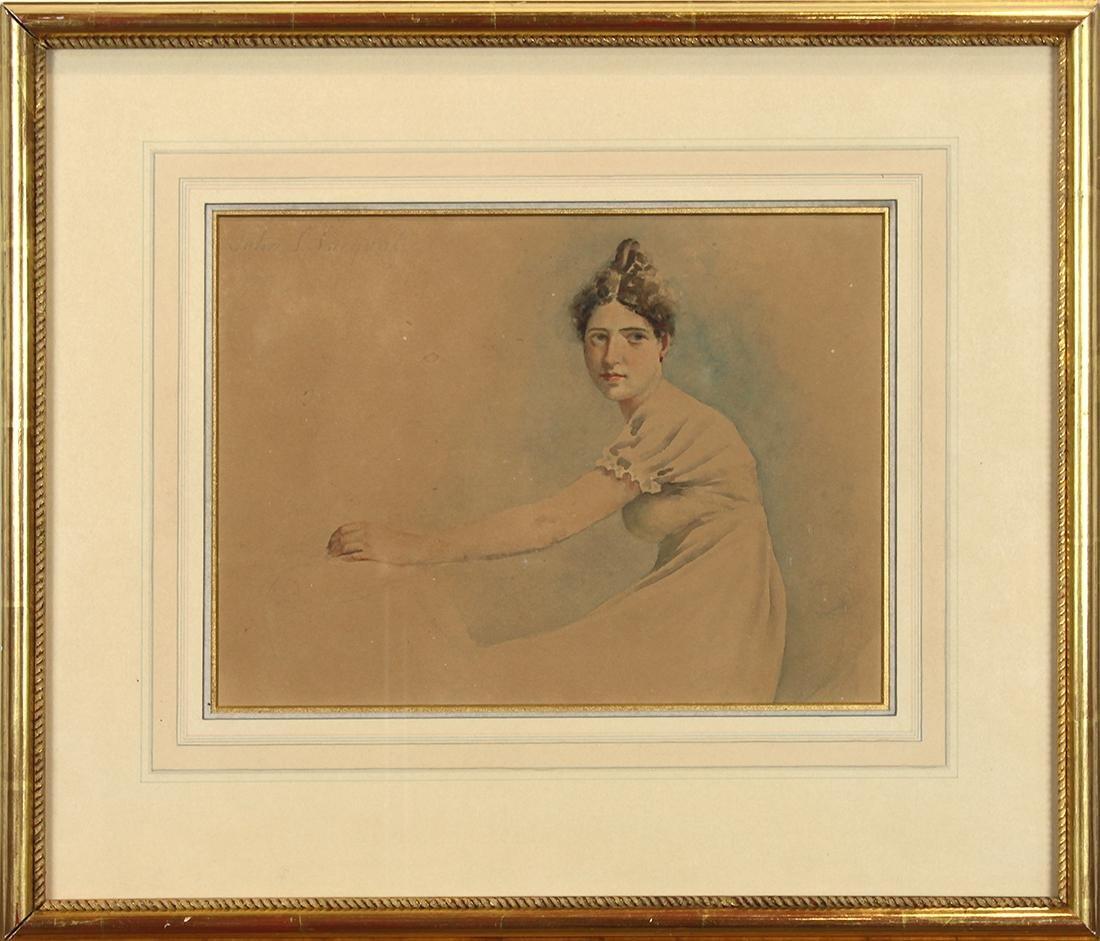 Work on paper, Circle of John Singer Sargent