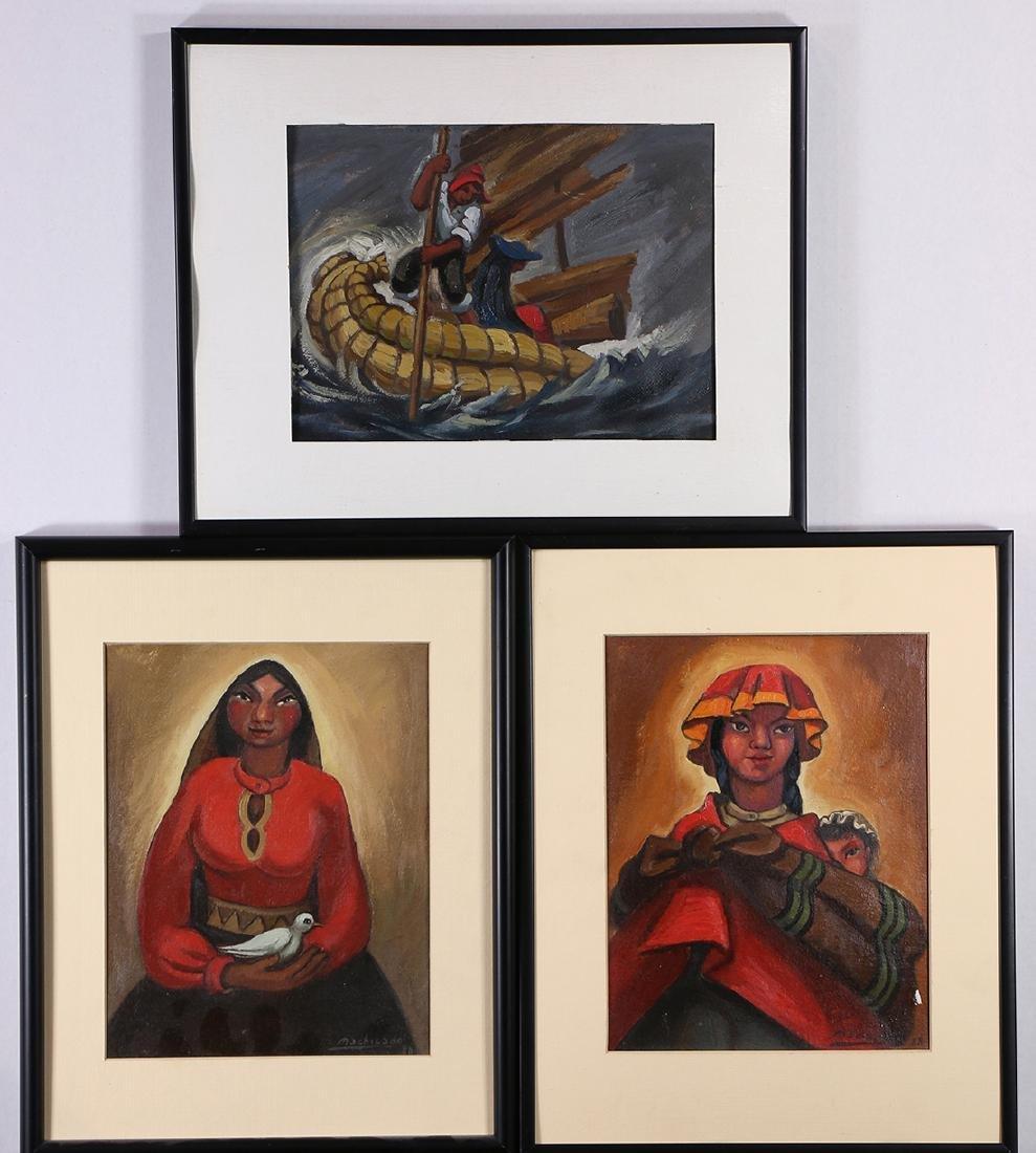 Paintings by Juan de la Machicado
