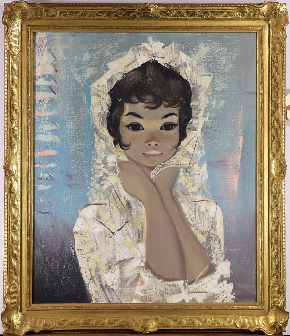 Paintings, Follower of Margaret Keane