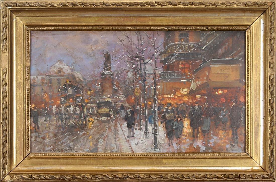 Painting, Follower of Edouard Cortes