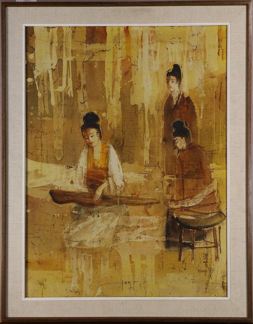 Painting, Three Chinese Women