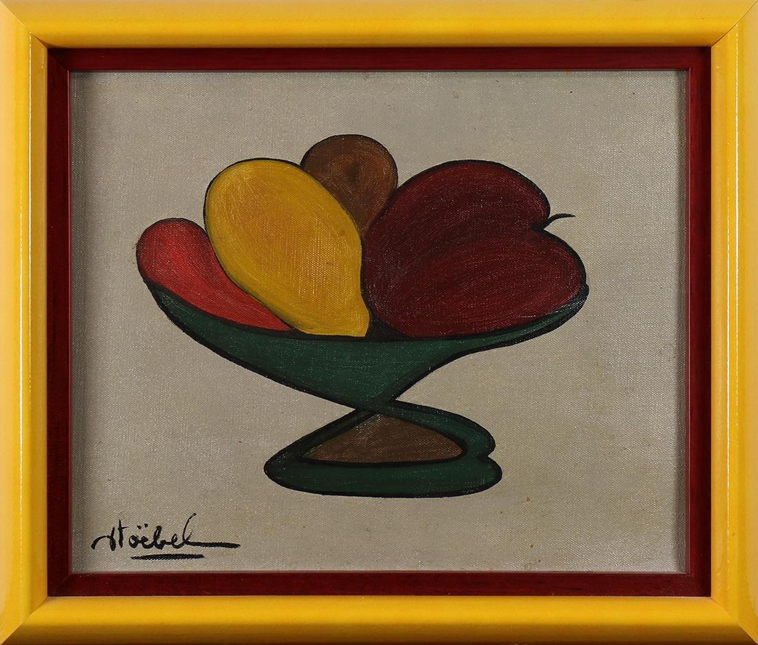 Painting, Edgar Stoebel