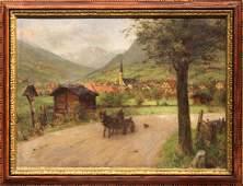 Painting, Arthur von Ferraris