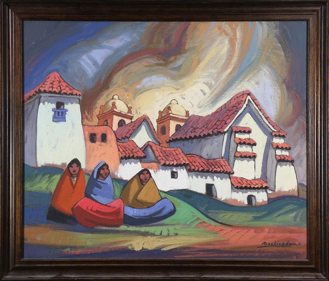 Painting, Juan de la Machicado