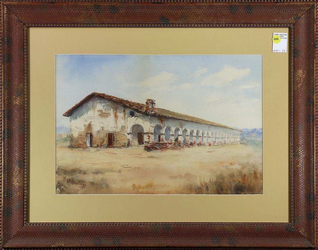 Watercolor, Henry Plympton Spaulding