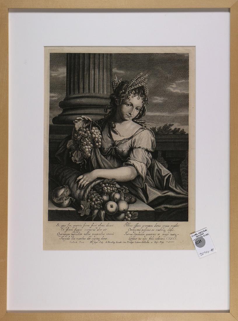 Print, Abraham Bloteling, Dionysus