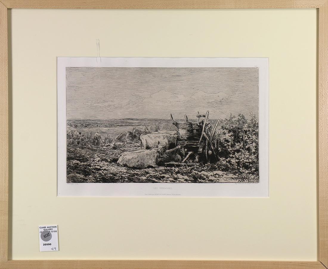 Print, Charles François Daubigny, Les Vendanges