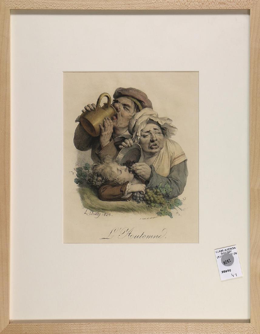 Print, Louis Leopold Boilly, L'Automne