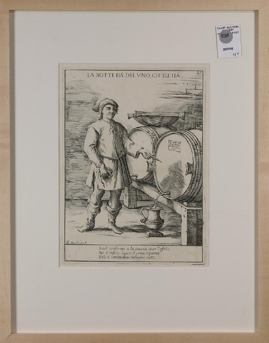 Print, Giuseppe Maria Mitelli