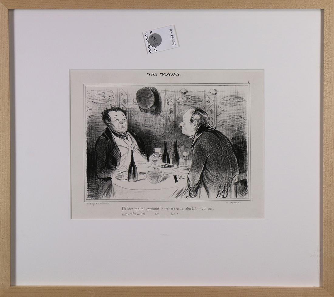 Prints, Honoré Daumier